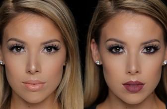Makijaże 2 w 1: makijaż dzienny i makijaż wieczorowy.